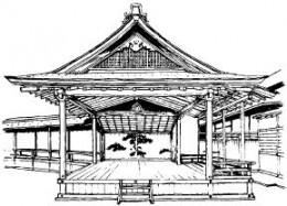 North Noh Stage, Nishi Honganji Shoin