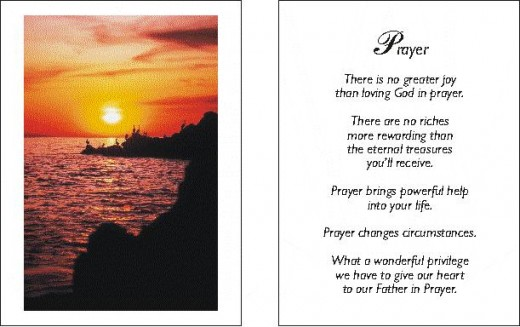 PRAYER By BERNARD LEVINE