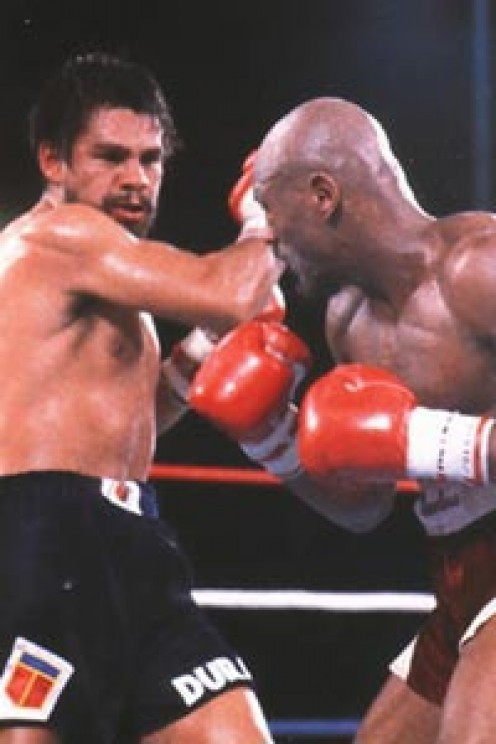 Duran tangles with Marvelous Marvin Hagler