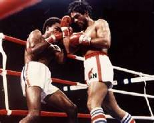 Duran vs. Sugar Ray Leonard