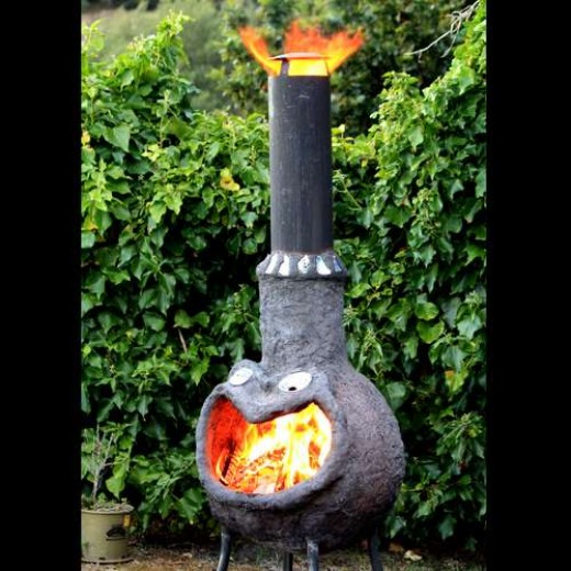 Chimeneas are used throughout Mexico.  They are part of that country's plan to over-heat the US and cause it to become uninhabitable.