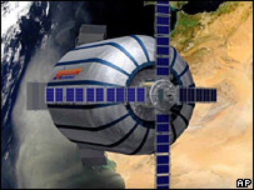 Bigelow Aerospace's inflatable habitate was successfully inflated in orbit in 2007 where it remains.