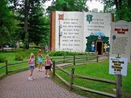 Entering Story Book Forest
