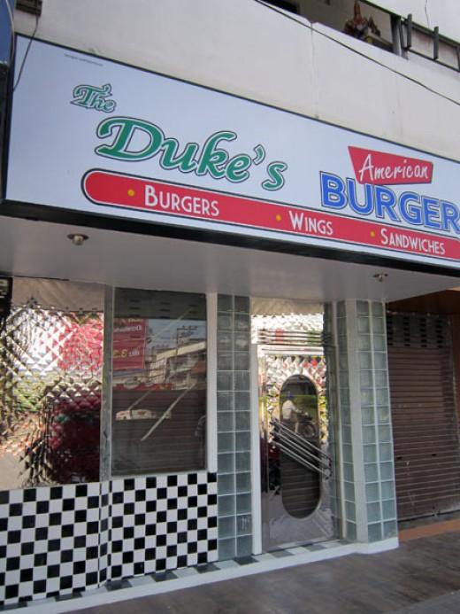 The New Duke's Burger Joint