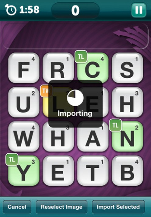 Scramble Cheat iPhone App