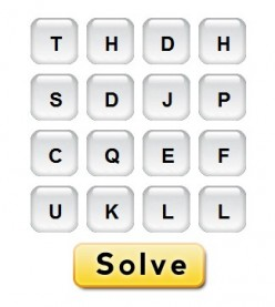 Online Word Solver for Scramble with Scramble with Friends