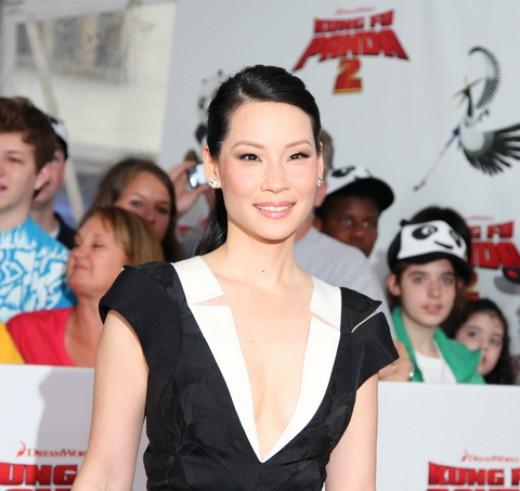 "Lucy Liu at a recent ""Kung Fu Panda 2"" premiere!"
