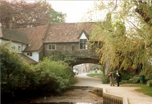 Old watergate, Pull's Ferry, Norwich