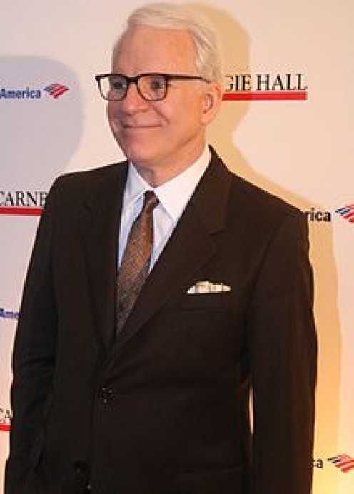 STEVE MARTIN. THE MASTER OF ABSTRACT THOUGHT. I COULD HAVE MY CHOICE OF GIRLS, CARS, AND HOMES IF I WERE AS FUNNY AS MARTIN.