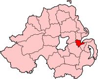 Map location of Belfast
