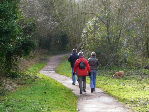 Walking is a part of many integrative medicine programs.