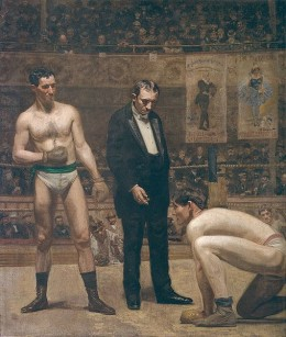 Taking the Count, painted by Thomas Eakins in 1898.