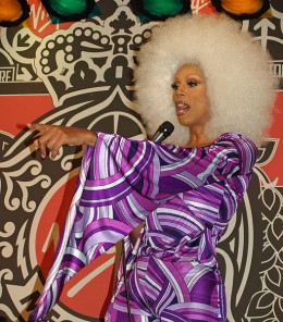 The Queen of Sassy Swag, RuPaul