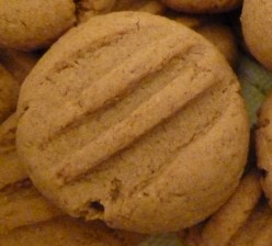 Simple Almond Butter Cookies recipe