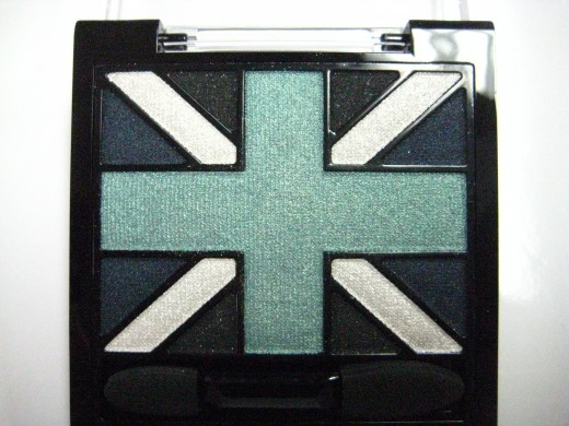 Rimmel Glam'Eyes HD Eyeshadow Quad in 003 Royal Blue