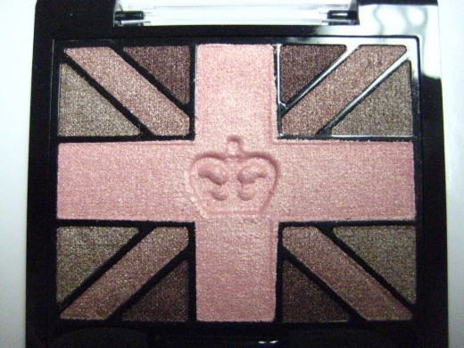Rimmel Glam'Eyes HD Eyeshadow Quad in 005 English Rose