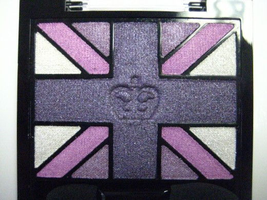 Rimmel Glam'Eyes HD Eyeshadow Quad in 006 Purple Reign