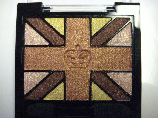 Rimmel Glam'Eyes HD Eyeshadow Quad in 007 Heart of Gold