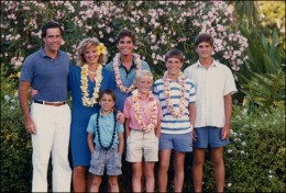 Love this photo of Mitt Romey and family since I live in Hawaii.