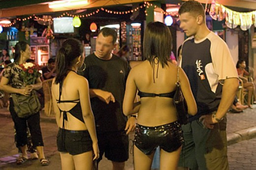 Sex Tourists In Thailand
