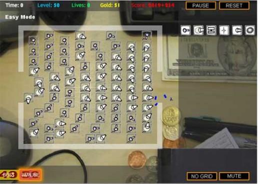 Desktop Tower Defense Game