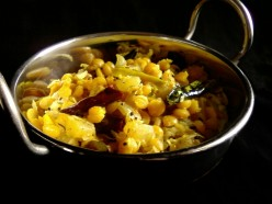 Dry Chana Dal Recipe.