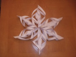 How to Make a Snowflake Decoration by Paper