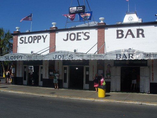 Famous Key West, Florida, Sloppy Joe's