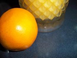 Fresh Squeezed Orange Juice for Chocolate Cake