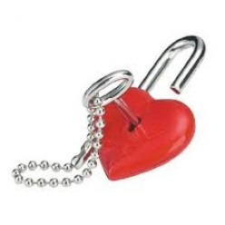 I've thrown away the key to my Heart