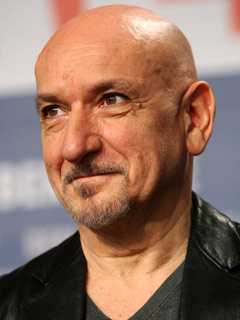 "Sir Ben Kingsley, Academy Award winner for ""Ghandhi."""