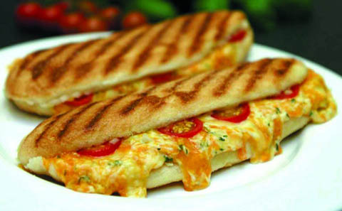 There are a multitude of different ideas for paninis. Can you think of one you would like?
