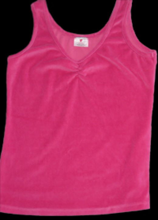 """Dry Babe """"Sweet Dreams"""" Tank Top and be worn with the """"Sweet Dreams"""" Boys Shorts. Colors may be mixed and matched."""