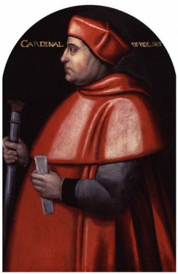 Cardinal Wolsey by an unknown artist