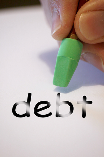 Clear the debts