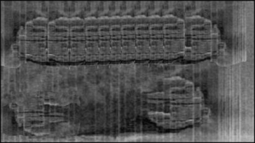 Complete Baltic Sea UFO sonar side-scan image - *See composite component image citation