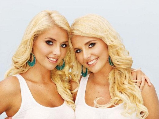 Playboy twins Karissa and Kristina Shannon