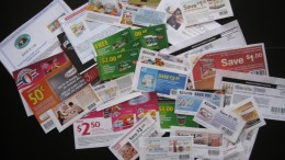 Some of the coupons currently in my Canadian coupon binder