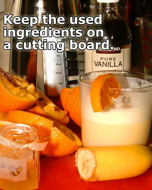 Keep your smoothie prep organized.