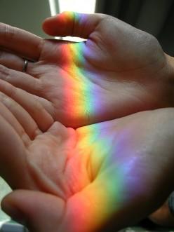 Like a Rainbow in My Hand