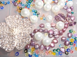 Adding a pendant can turn ordinary beads into a fabulous designer look