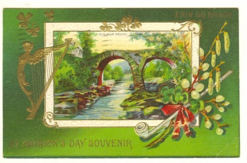 Antique St. Patrick's Day Card