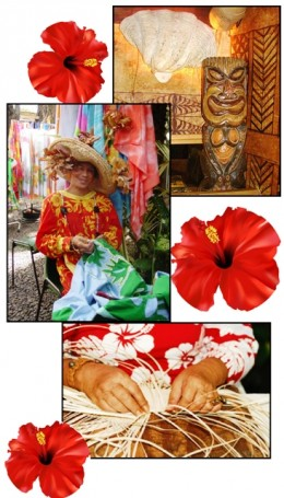 Traditional Tahitian Crafts and Skills include Quilting, Carving, and Weaving