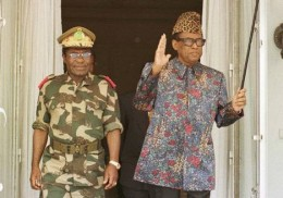 Mobutu, with American and French backing, made himself a center of power and resistance in Central Africa.