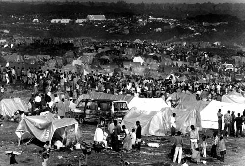 Rwandan refugees in Zaire