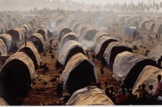 Goma refugee camp, Congo