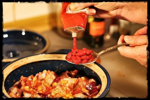 tomato puree...