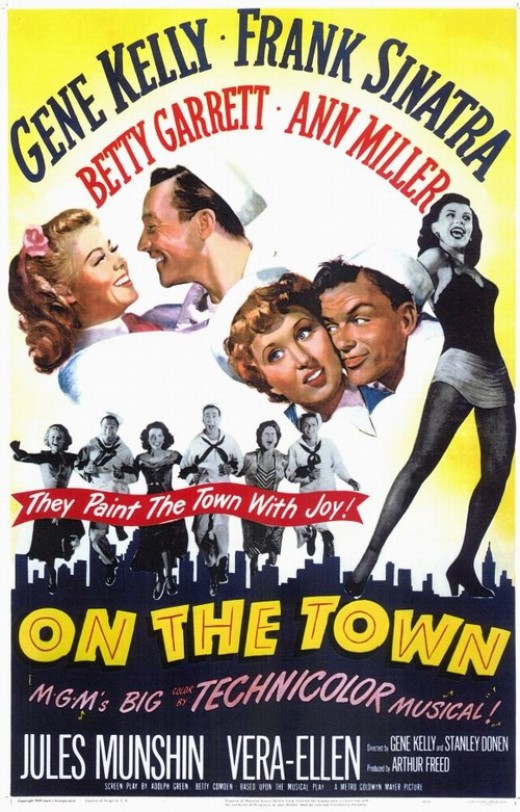 On the Town - poster
