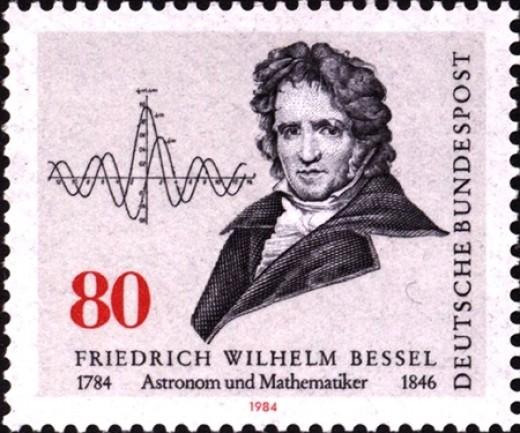 Friedrich Wilhelm Bessel, inventor of the Light Year concept.