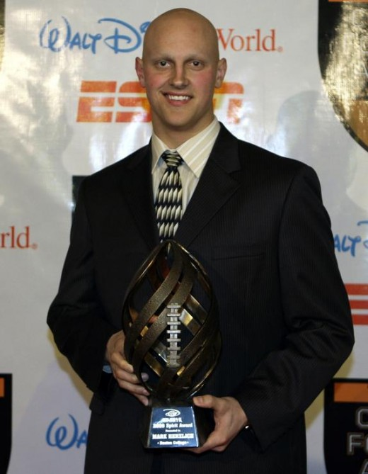 Mark Herzlich won the Disney Spirit Award in 2009